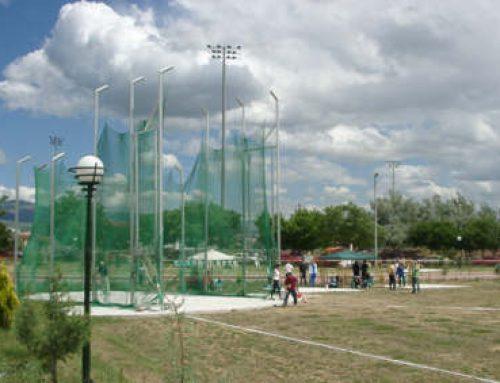 Νέοι χώροι  άθλησης  στον αύλειο χώρο του 1ου και 2ου Γυμνασίου και κατασκευή χώρου ρίψεων στο Στάδιο «Μεγαρέων Ολυμπιονικών»