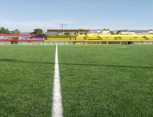 Εγκαίνια γηπέδου ποδοσφαίρου Ν. Περάμου